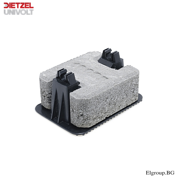 ПОКРИВЕН ДЪРЖАЧ, BS-concrete, DIETZEL UNIVOLT, 63934