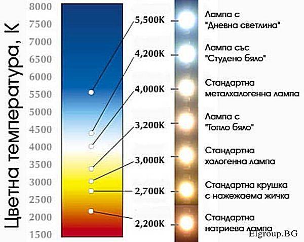 Цветна температура - Elgroup.BG