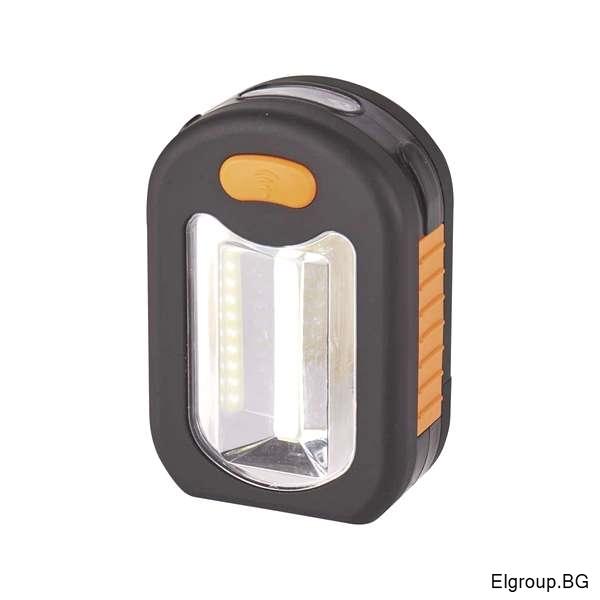 Джобен COB LED фенер с 2-светлини 200Lm, EMOS P3889