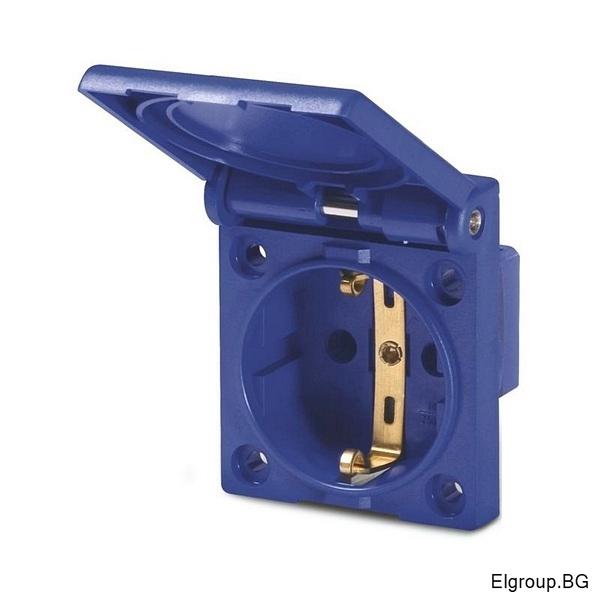 Контакт ШУКО 16А, 2P+Е, IP54, 50x60mm, SCAME Domo 570.2062