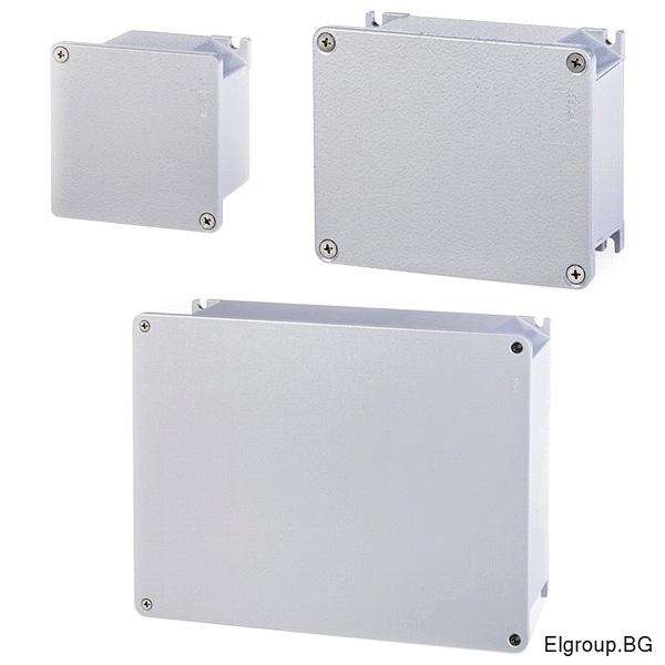 Влагозащитени алуминиеви клемни кутии, SCAME серия ALUBOX IP66