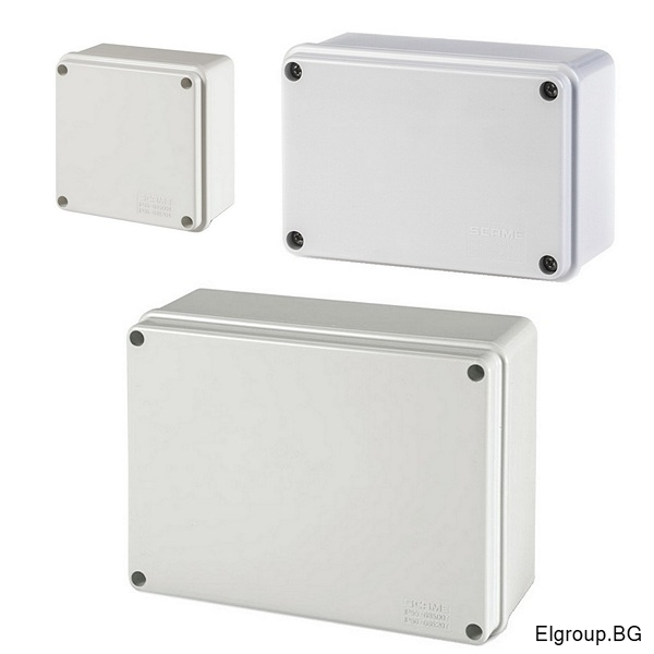 Влагозащитени клемни кутии с плътни стени, SCAME SCABOX IP56