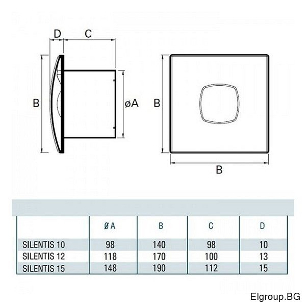CATA SILENTIS dimensions