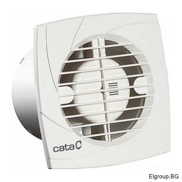 Вентилатор Ф100мм, 98м3/ч, 15W, 41dB, Cata B-10 PLUS, БЯЛ