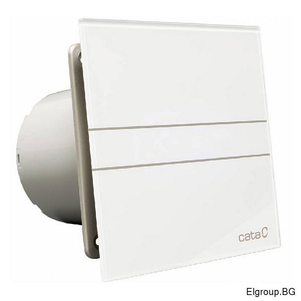 Вентилатор Ф100мм, 115м3/ч, 8W, 31dB, Cata E-100 G, БЯЛ