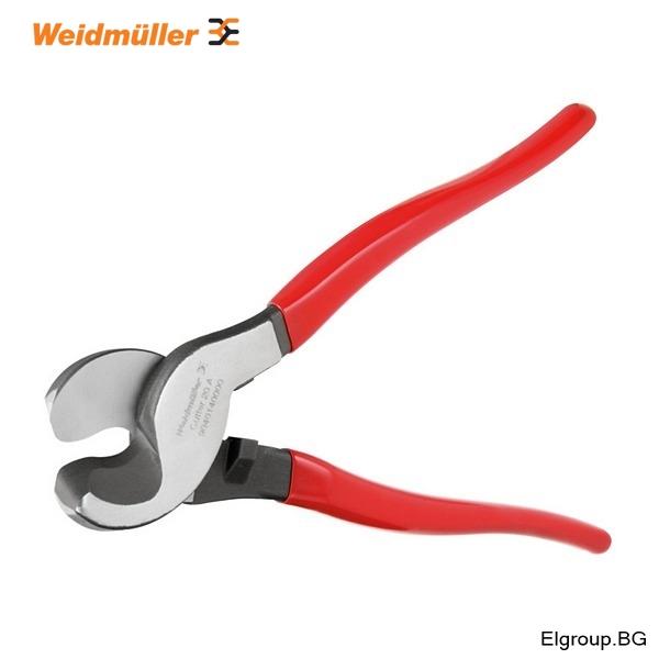 Резачки за рязане на кабели и проводници до ∅-22мм, Weidmuller