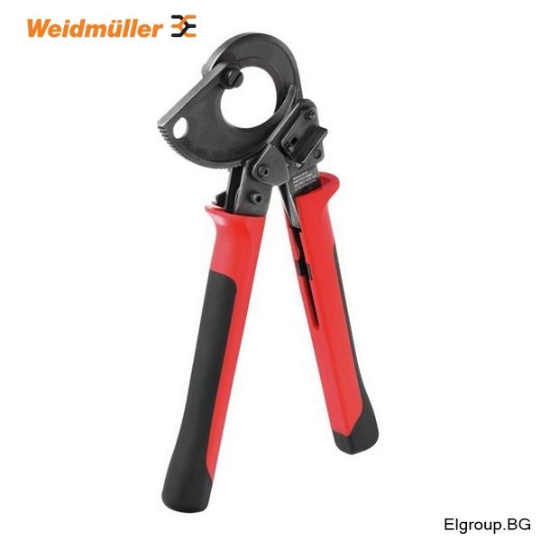 Ножица за рязане на медни и алуминиеви кабели до ∅-45мм, Weidmuller
