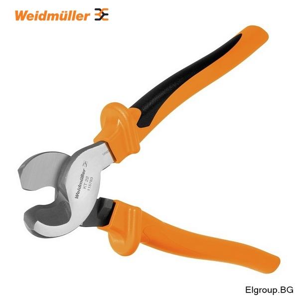 Резачки за кабели и проводници до ∅-22мм, VDE 1000V, Weidmuller