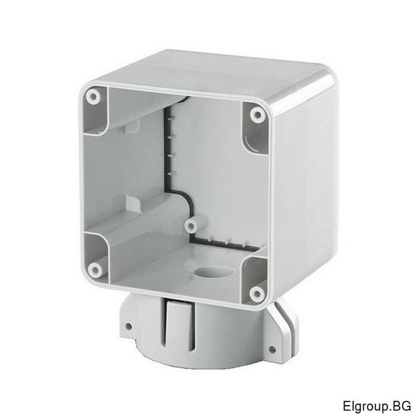 Единична кутия M95 за горната част на стълб ∅-50/60mm, IP66, Scame Protecta 137.131