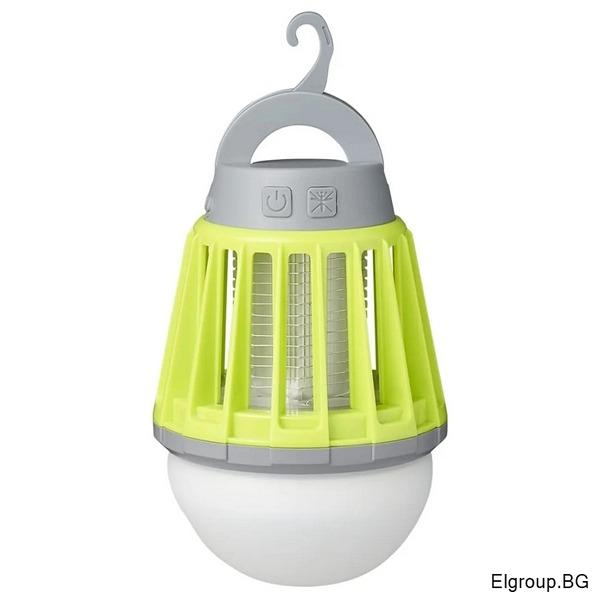 LED лампа с режим против комари 1W, 180lm, IPX6, Commel C401-711
