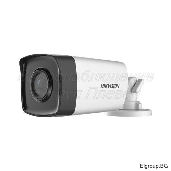 HDTVI корпусна камера 2MP, HIKVISION DS-2CE17D0T-IT5F(C)